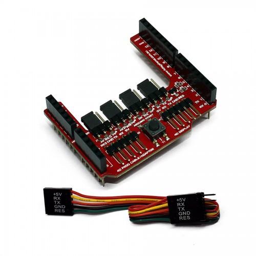 4D Arduino Adaptor Shield (rev 2.0)