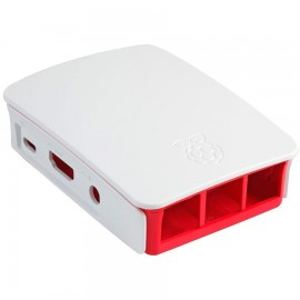 Raspberry Pi Case Blanco Oficial