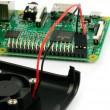 Raspberry Pi Case Negro con Ventilador